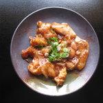 まるえつ - 料理写真:とり焼き味噌たれになります。