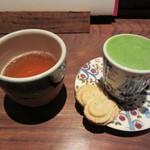 一保堂茶舗 喫茶室 嘉木 - 抹茶 幾世の昔 ポイントによるサービス
