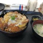 泰洋軒 - カツ丼  お味噌汁とお漬物付き