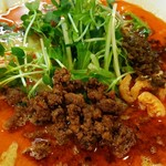 四川担担麺 阿吽 - 担担麺4辛 830円