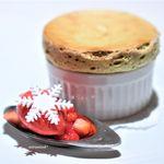 フランス料理 壺中天 - 料理写真:ピスタチオのスフレ