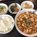 純華楼 - ランチ(麻婆豆腐)