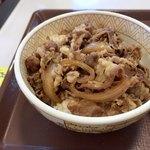 すき家 - 牛丼並