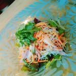 シンガポール・シーフード・リパブリック - ビーフンのサラダ