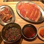 熟成焼肉 肉源 - 焼肉ランチ(ライス付き)