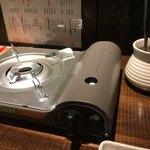 ちょんたま食堂 - カセットコンロで湯豆腐