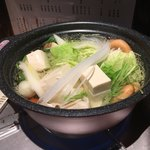 ちょんたま食堂 - 鍋ではない       湯豆腐なのだ