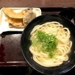 香川一福 - かけ大(570円)&天盛り(300円)