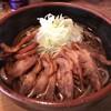 ふくや - 料理写真:あっつい肉そば 850円【税別】