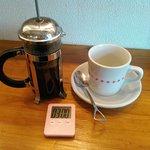 銀山ベース - コーヒーはタイマーと一緒に届きます。