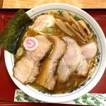 78245650 - チャーシュー麺(1,000円)&生卵(50円)
