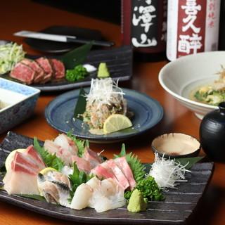 その日に釣った鮮魚の料理多数◎沖縄料理も本場の味!