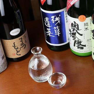こだわりの日本酒は、ベストな状態でご提供いたします◎