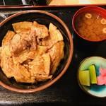 ぶたや 一歩一歩 - ぶたやの豚丼・並(800円)