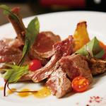 libra - 料理写真:ラム肉のロースト
