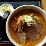 あづまや - 料理写真:みそチューシューメン1060円