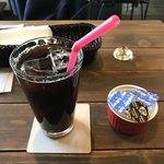 78248303 - セットのドリンクはアイスコーヒーをチョイス