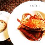KNOCK - 渡り蟹のトマトクリームパスタ