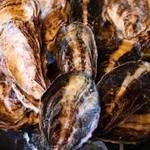 ミーサンキッチン - 広島県産大崎上島から牡蠣