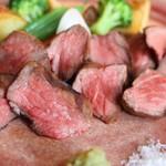 ミーサンキッチン - 広島牛もも肉グリル