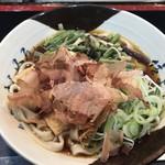 78250395 - 山菜きしめん(490円)
