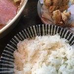 縁乃助商店 - ご飯 鶏唐揚げ