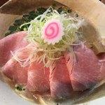 縁乃助商店 - チキポタチャーシュー麺(´ω`(´ω`)