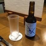tajimagyuuiroridainingumikuni - 城崎温泉地ビール、空のビール