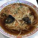 餃子の王将 - サンマー麺