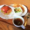 ZARAME - 料理写真:日替わりバーガーセット