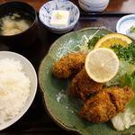 食事処 みしまや - 料理写真:かきフライ定食 1480円