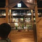 九州うまいもん通り かんてきや - 焼酎&日本酒のLine up
