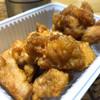 かしわ つるや - 料理写真:鶏の唐揚げ(小)