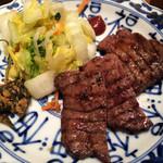 肉匠の牛たん たん之助 - 自然薯牛たん御膳