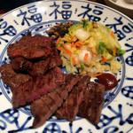 肉匠の牛たん たん之助 - 牛たん2種盛り定食