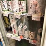 もりもと - 店内(日本酒コーナー)