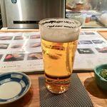 築地青空三代目 - 生ビールとお通し!