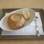 ファーストキッチン - 料理写真:「スープパン/豆乳クラムチャウダー」です。