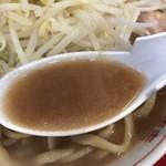 ラーメン英二 - 【2017.12.8】豚骨乳化スープにカネシ醤油を程よく効かせた旨旨スープ❤️