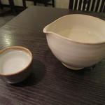 石臼挽き手打ち蕎麦進士 - 冷酒「杉勇」