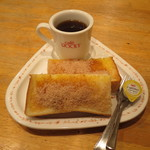 ロッキー - シナモントースト・ホットコーヒー