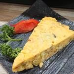 幸 - 料理写真:桜エビ入り厚焼き玉子