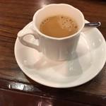 レストラン MIYAKO - ドリンク写真:食後はドリンク付き!