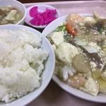 中華大千居 - 日替わりランチ(海鮮と豆腐煮込み)