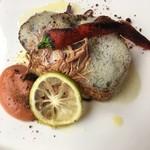 ピエール プレシウーズ - メインのお魚料理