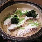 78264117 - 鯛と生海苔の炊き込みご飯