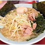 ラーメンショップ 金田亭 - 料理写真:ネギラーメン+味付玉子 750+100円 すごくバランスがいいです。