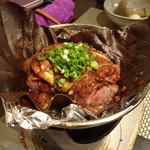 禅紫 - 朴葉味噌焼き(飛騨牛サーロイン)