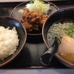 78268658 - 白ご飯にラーメンは炭水化物祭りではあります(苦笑)