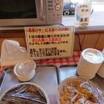 赤のれん - 高菜の注意!